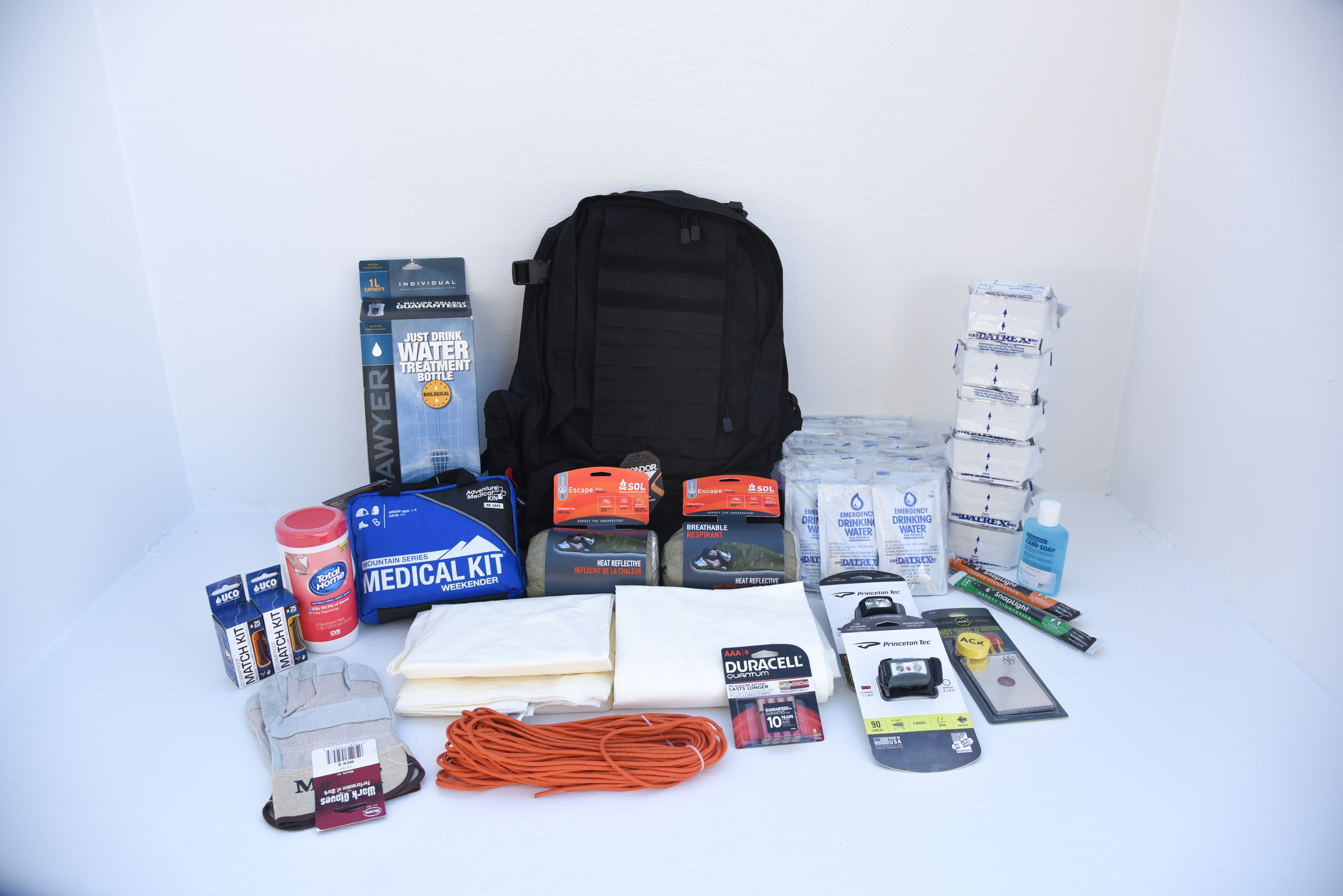 Deluxe Go Bag 2 Persons The Perfect Prepper