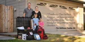 perfect prepper hoffman family
