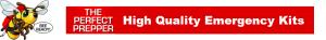 The Perfect Prepper Logo Header High Quality Emergency Kits