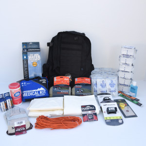 Deluxe Emergency Go Bag - 2 Persons - Perfect Prepper