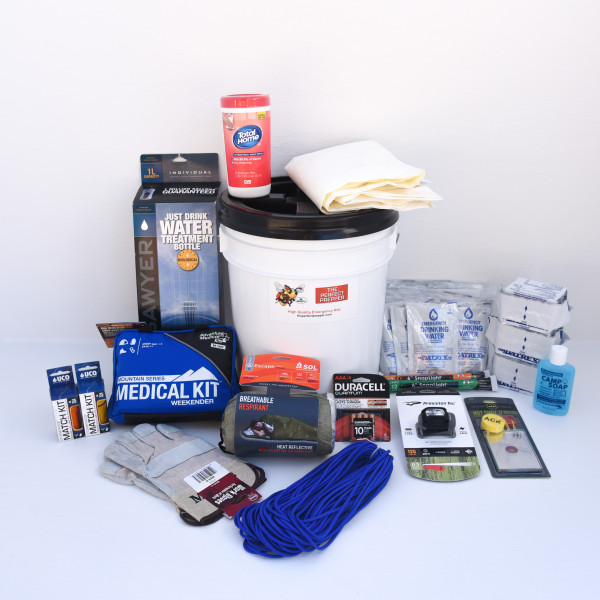Deluxe Home Emergency Kit – 1 Person – Perfect Prepper