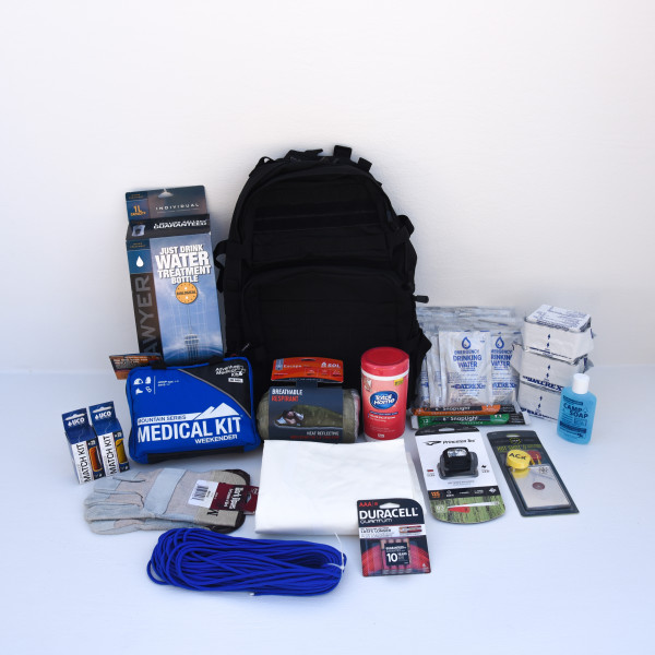 Deluxe Go Bag – 1 Person – Perfect Prepper