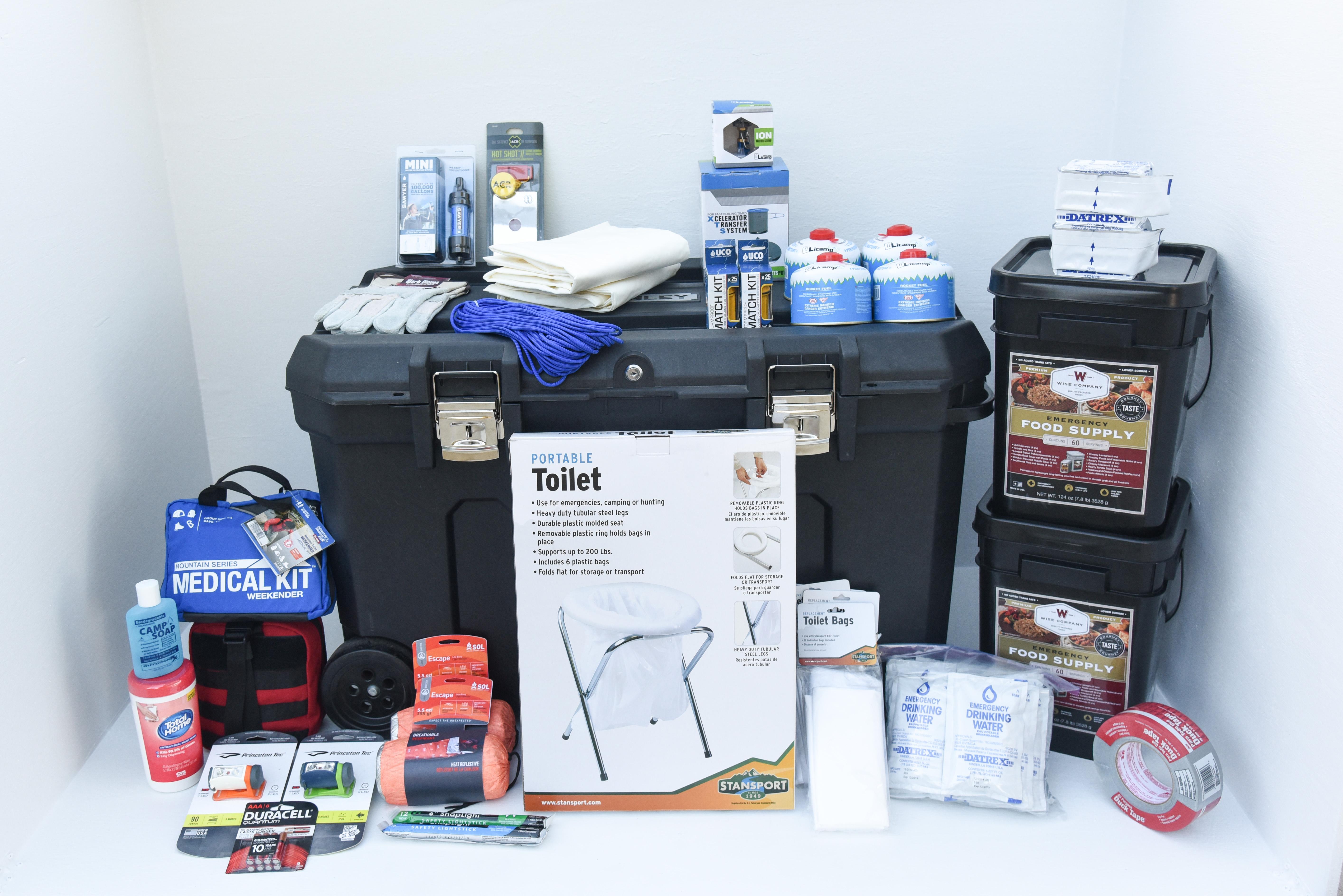 Basic Family Home Emergency Kit Perfect Prepper